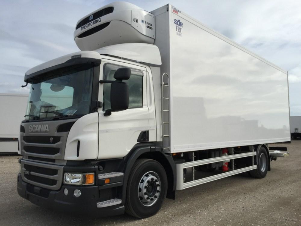 camion 18 ton scania frigorifico. Black Bedroom Furniture Sets. Home Design Ideas